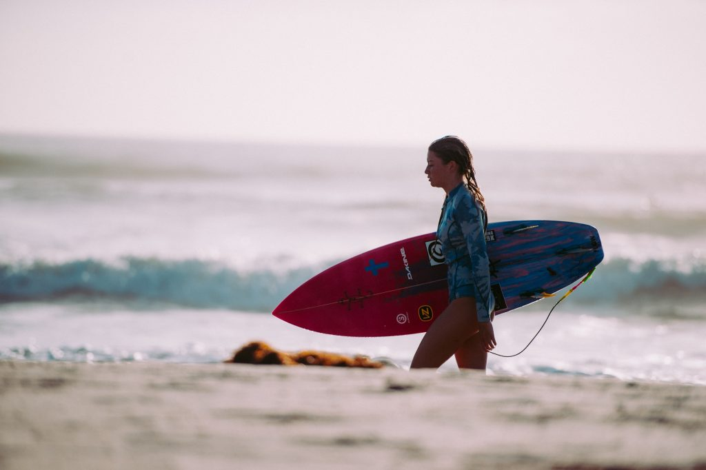 Thanks to Gidget Girl Surfers are now a common things.
